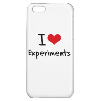 I love Experiments Case For iPhone 5C