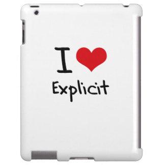 I love Explicit