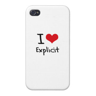I love Explicit iPhone 4 Covers