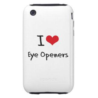 I love Eye Openers Tough iPhone 3 Cases