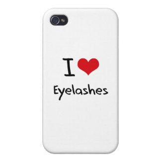 I love Eyelashes iPhone 4/4S Cases