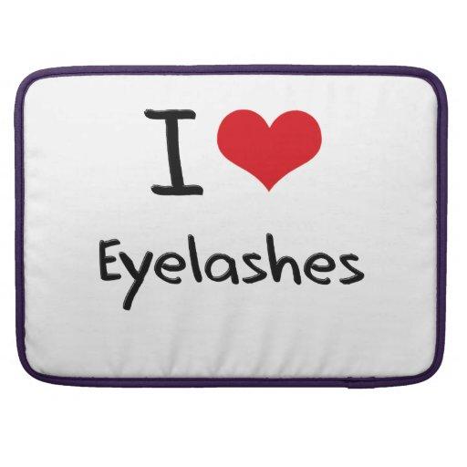 I love Eyelashes MacBook Pro Sleeves