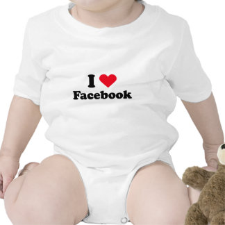 I love Facebook T-shirt