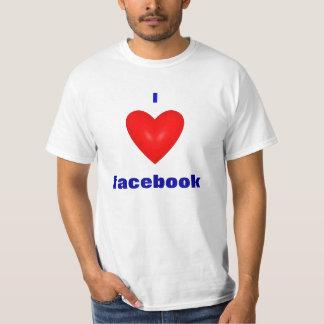 I love facebook tee