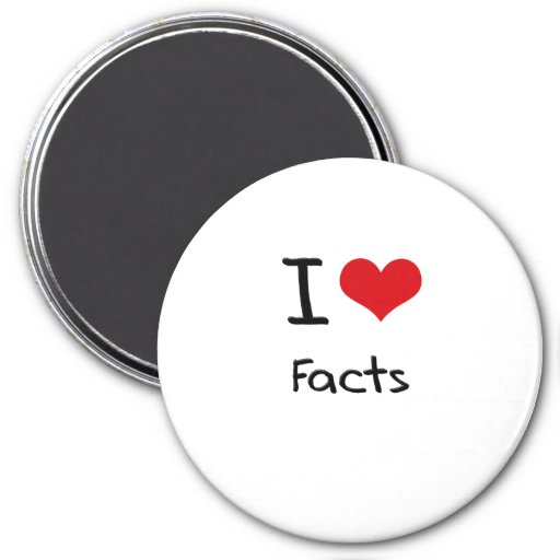 I Love Facts Magnets