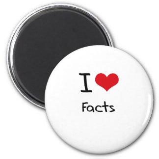 I Love Facts Fridge Magnets