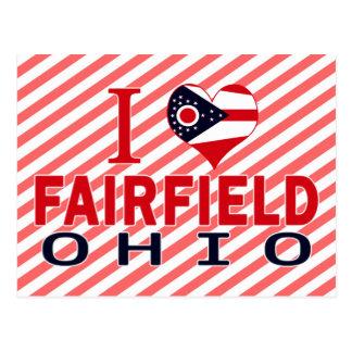I love Fairfield, Ohio Postcard