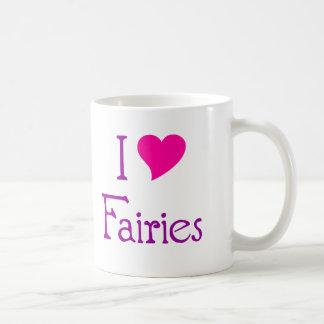 I Love Fairies Mug