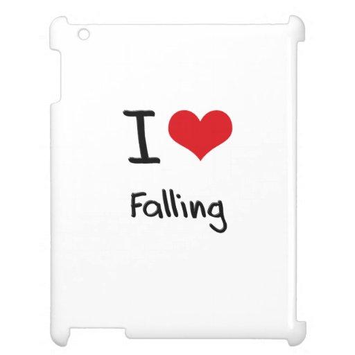 I Love Falling iPad Covers