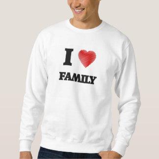 I love Family Sweatshirt