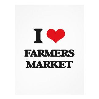 I love Farmers Market Flyers
