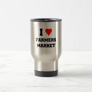 I love Farmers Market Stainless Steel Travel Mug