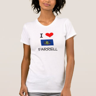 I Love Farrell Pennsylvania Tees