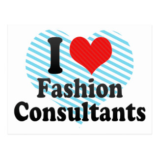 I Love Fashion Consultants Post Cards