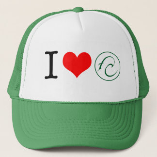 I Love FC Trucker Hat