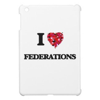 I Love Federations iPad Mini Cases