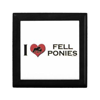 "I Love Fell Ponies:  ""I Heart Fell Ponies"" Trinket Box"