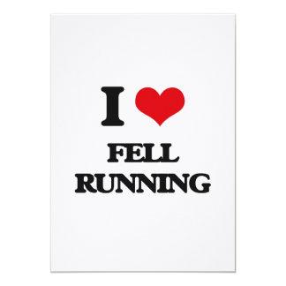 I Love Fell Running Custom Invites