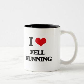 I Love Fell Running Mug