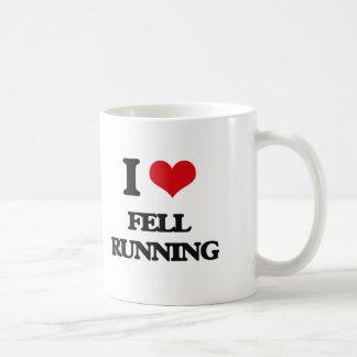 I Love Fell Running Mugs