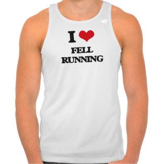 I Love Fell Running Tshirt