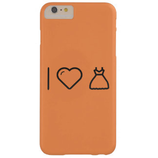 I Love Female Gowns Barely There iPhone 6 Plus Case