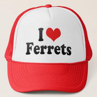 I Love Ferrets Trucker Hat