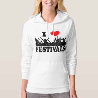 I Love festivals (blk) Hoodie