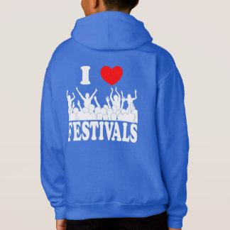 I Love festivals (wht)
