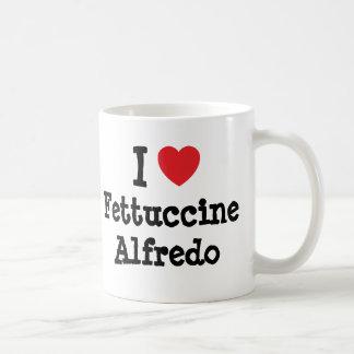 I love Fettuccine Alfredo heart T-Shirt Coffee Mug