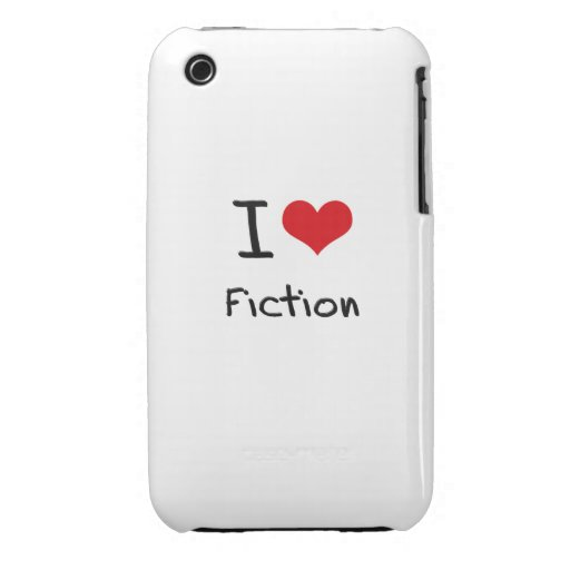 I Love Fiction iPhone 3 Cases