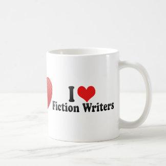 I Love Fiction Writers Mug