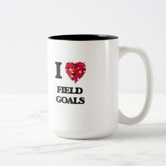 I love Field Goals Two-Tone Mug