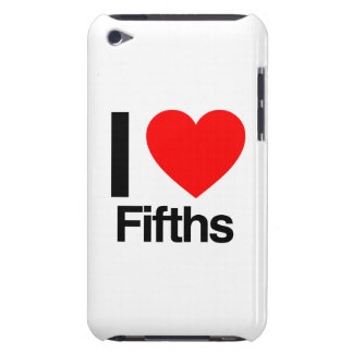 i love fifths iPod touch Case-Mate case