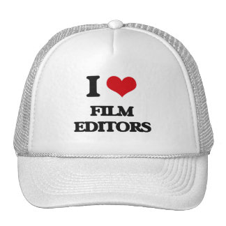 I love Film Editors Trucker Hat