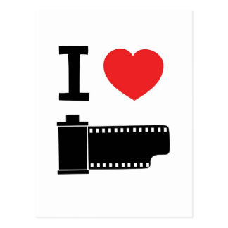 I love film postcard