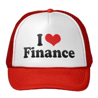 I Love Finance Trucker Hats