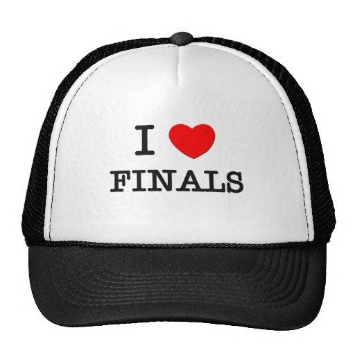 I Love Finances Hat