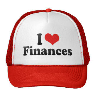 I Love Finances Mesh Hats