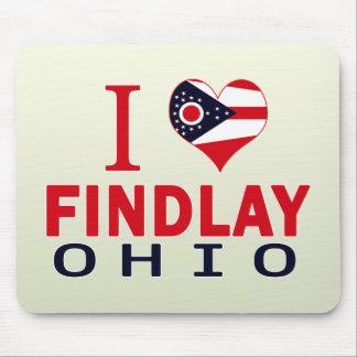 I love Findlay, Ohio Mouse Pad