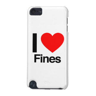 i love fines iPod touch (5th generation) case