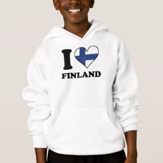 I Love Finland Finnish Flag Heart