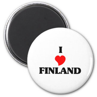I Love Finland Magnets