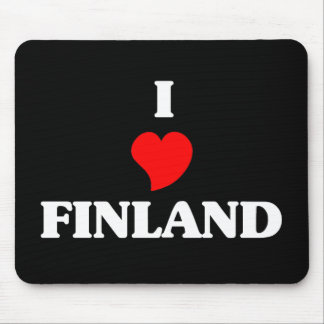 I Love Finland Mouse Mats