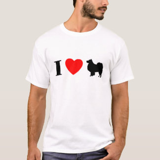 I Love Finnish Lapphunds T-Shirt