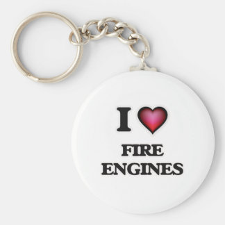 I love Fire Engines Key Ring