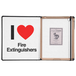 i love fire extinguishers case for iPad