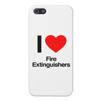 i love fire extinguishers iPhone 5/5S covers