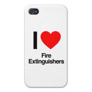 i love fire extinguishers iPhone 4 covers