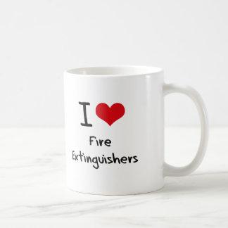 I Love Fire Extinguishers Mug